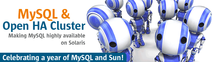 MySQL & Open HA Cluster - Making MySQL highly available on Solaris