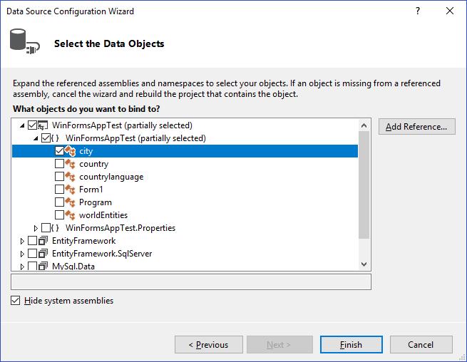 MySQL :: MySQL Connector/NET Developer Guide :: 4 6 Tutorial: Using