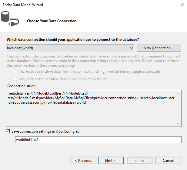 MySQL :: MySQL Connector/NET Developer Guide :: 4 6 Tutorial