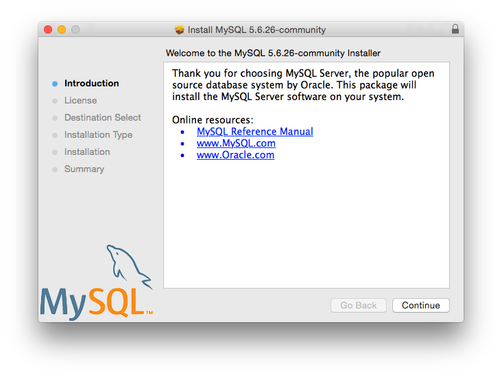 Step 2 – Install MySQL on macOS