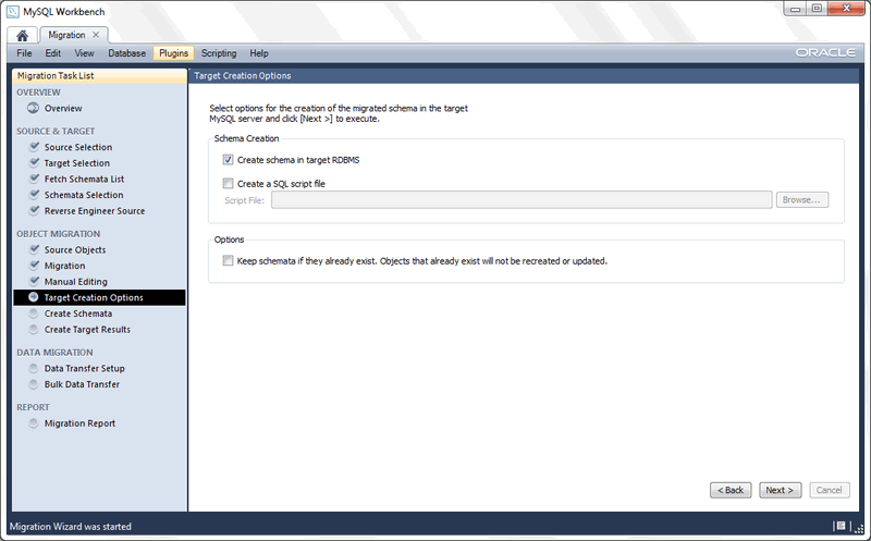 MySQL :: MySQL Workbench Manual :: 10 4 Microsoft Access Migration