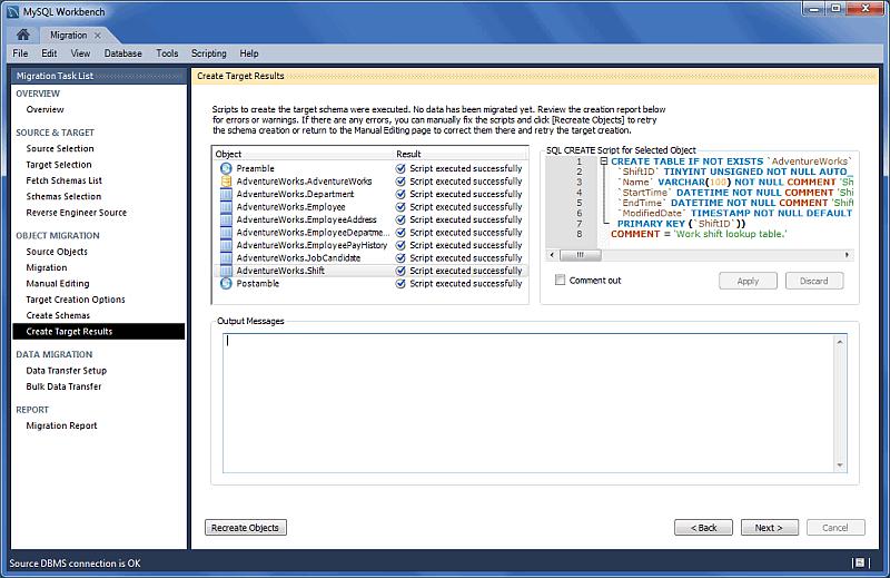 MySQL :: MySQL Workbench Manual :: 10 2 1 A Visual Guide to