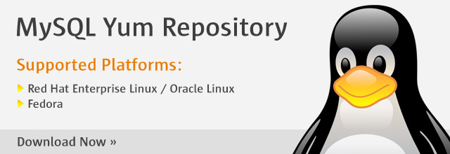 MySQL :: Download MySQL Yum Repository